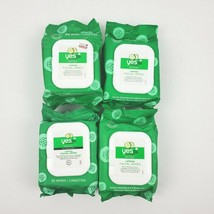 4X Yes to Cucumbers Soothing Hypoallergenic Facial Wipes 30 Wipes Per Pack - $20.53