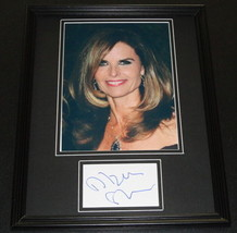 Maria Shriver Signed Framed 11x14 Photo Display - $60.41