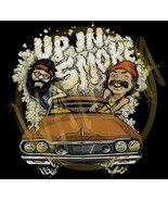 Cheech & Chong Up In Smoke Funny Image Men's T-Shirt - $20.78