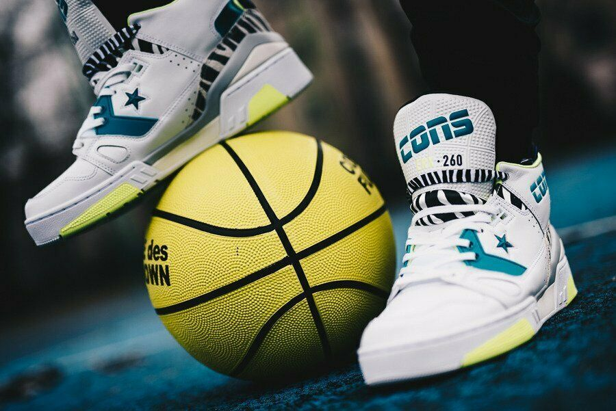 """CONVERSE ERX 260 MID """"JUST DON"""" ANIMAL PACK WHITE SIZE 11 BRAND NEW (163783C)"""