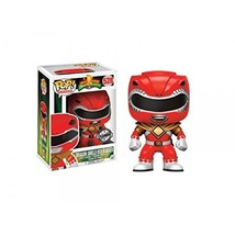 Funko Pop! Television Mighty Morphin Power Rangers Red Ranger #528 (Drag... - $40.93