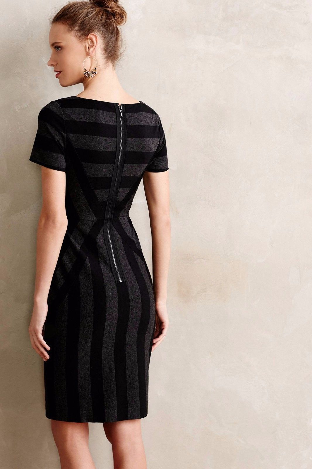 NWT ANTHROPOLOGIE GEOPLANE PENCIL DRESS by MAEVE 6