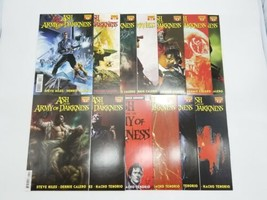 Ash & the Army of Darkness 1-8 Complete Set + Variants Cover & Signed Is... - $77.39