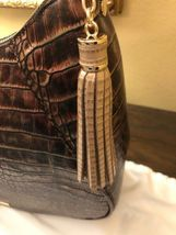 BRAHMIN AMIRA SHOULDER BAG BROWN MILAN  STUNNING COLOR NWT P30108800032 image 10