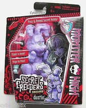 Monster High DUSTIN Secret Creepers Toy Bunny Abby Bominable's Pet NEW F... - $5.44
