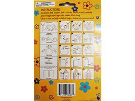 Regent Products Corp Felt Chick Bag Kit for Children #G90483 image 2