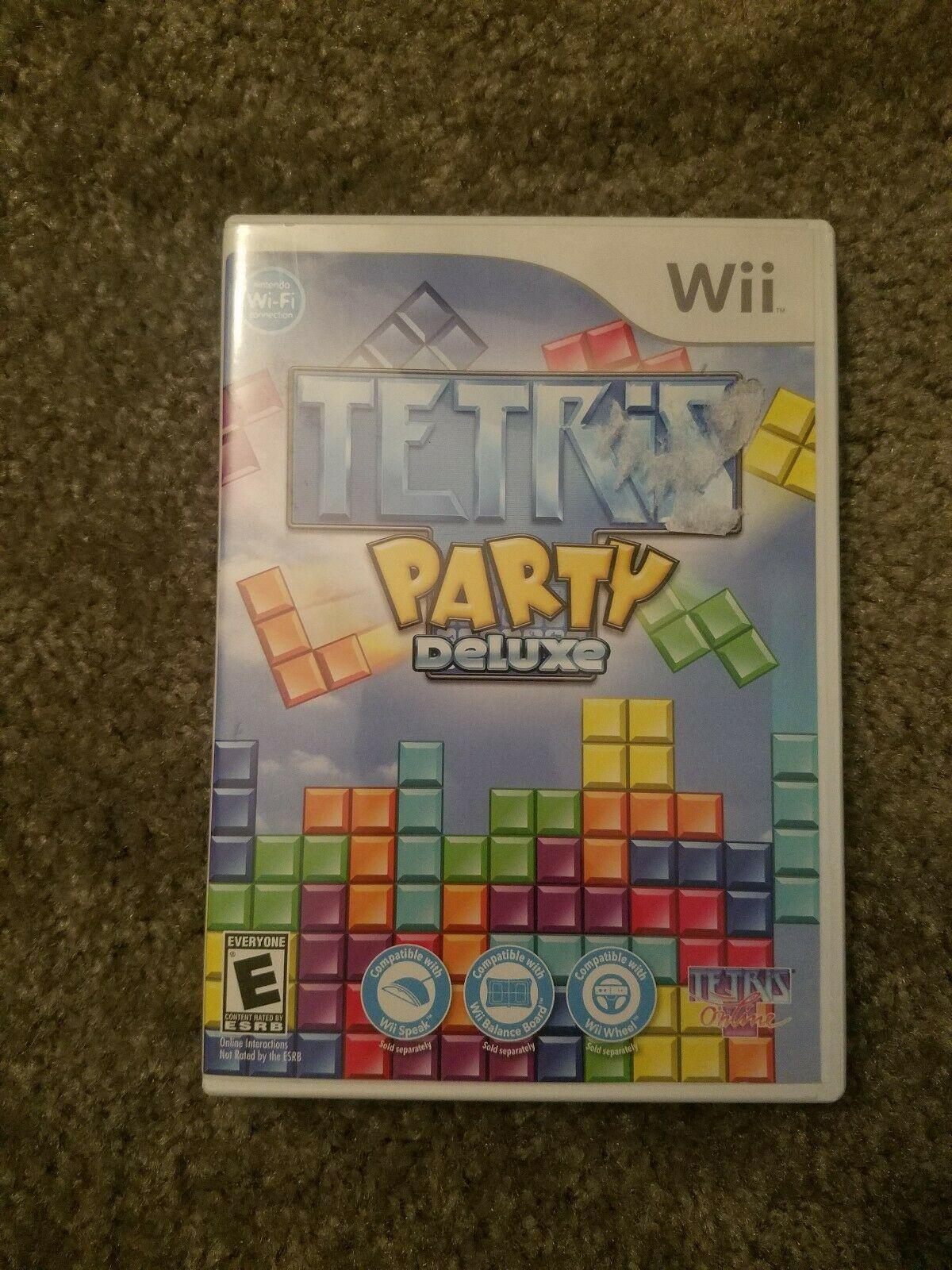 Tetris Party Deluxe (Nintendo Wii, 2010)