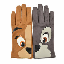 Disney Store Japan Lady and the Tramp Gloves Face Sweet Lady Christmas g... - $72.27