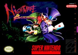 Nightmare Busters NTSC USA SNES Super Nintendo Video Game - $19.99