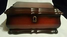 Bombay Company Cherrywood Jewelry Box 2000 missing key - €13,41 EUR