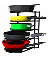 Pan Organizer Lid Holder Cabinet 5Tier Space Saver Cookware Bakeware Rac... - $48.12
