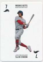 2019-2020 Topps 52 Card Baseball By Kenny Mayne Mookie Betts Red Sox - $5.00