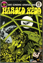 Harold Hedd 2, Last Gasp 1973, Rand Holmes, 2nd print, Underground Comix... - $14.25