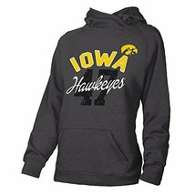 NCAA Iowa Hawkeyes Ouray Redux Hoodie Sweatshirt Charcoal Heather Gray XL - $26.54