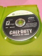 Call of Duty: World at War (Microsoft Xbox 360, 2008) DISC ONLY - $1.52