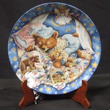 Bradford Exchange Lullabears Sweet Dreamin Collection Plate 1995 - $24.74