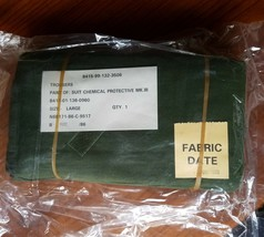 Chemical Protective MK.III Trousers Size Large Sealed New Old Stock Vint... - $18.37