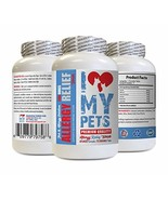I LOVE MY PETS Dog itching Skin Relief Supplements - Dog Allergy Relief ... - $25.92
