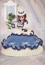 "Vtg 1992 Crochet 15"" Abigail Classic Fashion Doll Colonial Period Dress ... - $11.99"