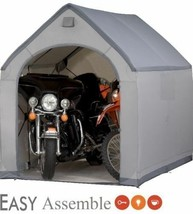 Outdoor Storage Sheds House XXL Plastic Easy Building Tools Box Garage P... - $287.00