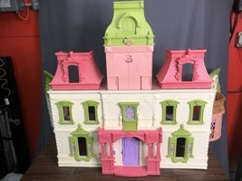 Fisher Price Loving Family Grand Mansion Doll House 3 Story Plus Attic - $89.09
