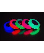 5 Pack Half Inch UV Blacklight Reactive Fluorescent Gaffer Tape 5 Rolls ... - $13.50
