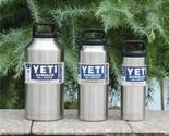 18 36 64 OZ YETI cup 304 Stainless Steel Insulation Mug Tumbler Rambler Cooler