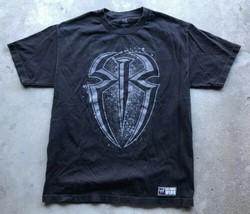 WWE Roman Reigns 'One Versus All' Short Sleeve T-Shirt Men's Large Black  - $15.13