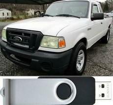 Ford Ranger Factory Service Repair & Wiring Manual  2006 - 2011 USB - $18.00