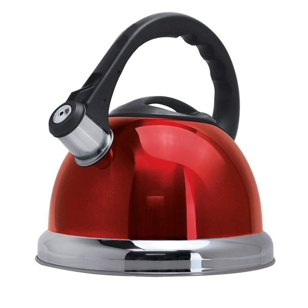 Better Chef 3-Liter Whistling Tea Kettle in Red image 1