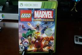 LEGO Marvel Super Heroes (Microsoft Xbox 360, 2013)w/ Manual - VG  - $10.84