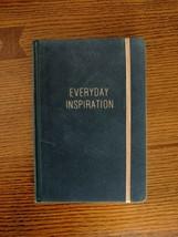 Everyday Inspiration Journal Diary Blue Velvet Copper Guilding Lined Not... - $18.37