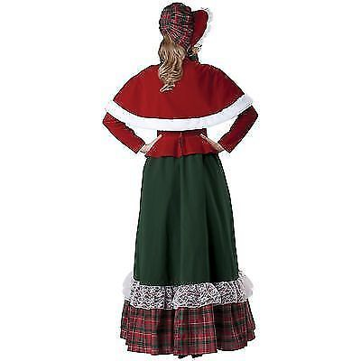 INCHARACTER CHARLES DICKENS YULETIDE LADY CHRISTMAS SANTA CLAUS COSTUME 51011