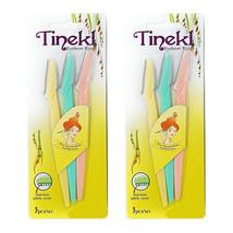 TINEKL EYEBROW RAZOR Eyebrow Trimmer 6 PIECES (Pack of 2) - $5.89