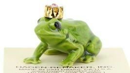 Birthstone Frog Prince June Simulated Alexandrite Miniatures by Hagen-Renaker image 7