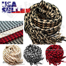 Casual Scarf Winter Warm Wrap Scarves Houndstooth Fleece Long Soft Mens ... - $7.99