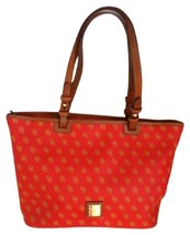 Dooney & Bourke Signature Leather Red Tote Bag - $74.47