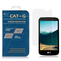 LG K3 (2017) TEMPERED GLASS SCREEN PROTECTOR 0.33MM ARCING - $4.99