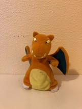 "Plush Stuffed Animal Anime Pokemon Charizard Treat Keeper 5"" Hasbro 1999 - $6.93"