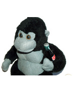 "RARE 1996 Coca Cola 6"" Stuffed Plush Ape Gorilla Monkey Animal w/ Coke B... - $18.79"
