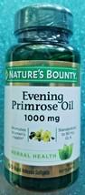 Nature's Bounty Evening Primrose Oil 1000 mg Rapid Release Soft 60 CT. E... - $16.99