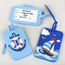 Nautical luggage tags - 2 assorted from gifts by fashioncraft  - $104.99