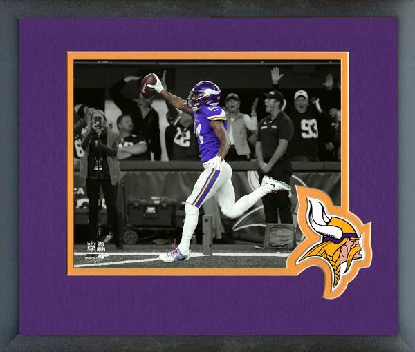 Stefon Diggs Winning TD 2017 NFC Divisional Playoff Game Framed Spotlight Photo