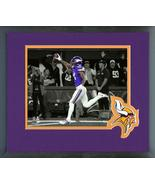 Stefon Diggs Winning TD 2017 NFC Divisional Playoff Game Framed Spotligh... - $43.55