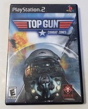 Top Gun Combat Zones - PlayStation 2 PS2 BL Black Label Video Game CIB C... - $9.85