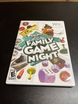 Family Game Night Nintendo Wii Hasbro Video Game Complete W/ Manual Connect 4 - $12.82