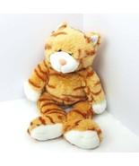 "Build A Bear Plush Orange Cat 16"" Tabby Stuffed Animal Sound Meows 16"" - $15.84"
