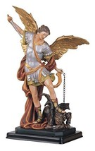 George S. Chen Imports SS-G-212.04 Saint Michael the Archangel Holy Figurine Rel