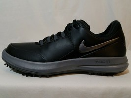 Nike Air Zoom Accurate Leather Golf Shoes Size 7 Women's Black Cleats 90... - £40.71 GBP