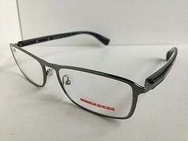 New PRADA Sport VPS 55D OAQ-1O1 Rx Gray 54mm Men's Eyeglasses Frame Ital... - $149.99